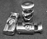 Фиксатор пластмассовый красивый серебро мм